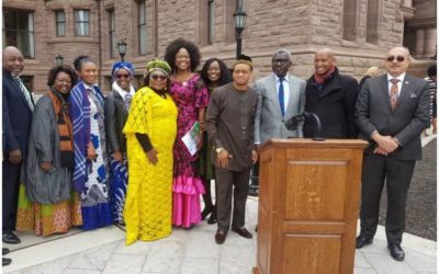 Global African Day Celebration in Canada